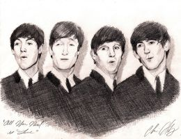 The Beatles by ChrisHdzArt