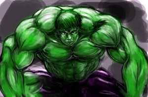 The Hulk by iEvEtS