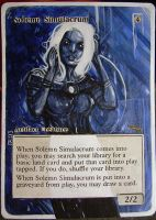 Magic Card Alteration: Solemn Simulacrum 10-7 by Ondal-the-Fool
