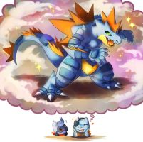 Mega Feraligatr by Haychel