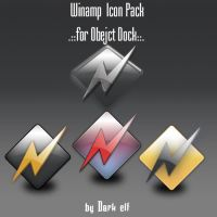 Winamp Icons by z-dark