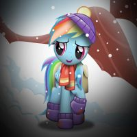 Rainbow Dash in Tanks For The Memories by Sol-Republica