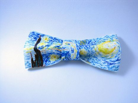 The Starry Bow Tie by nozomigirl