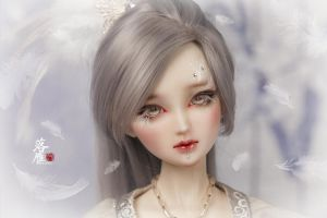 Wang chiang (zhaojun) - LuoYan faceup by Angell-studio
