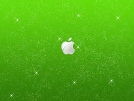 Apple Starry Wallpaper by Oliuss