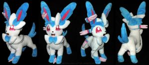 [PLUSHIE] Shiny Sylveon (13 inches) SOLD by ShiroTheWhiteWolf