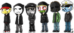 Hollywood Undead by ClearGuitar