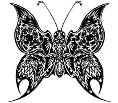 Butterfly Tatt by aphexdraw