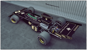 Lotus 72D John Player Special 1973 by Yorzua