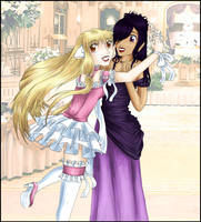 Random Pairs .:1:. Chii and DeeDee at the prom by THWT