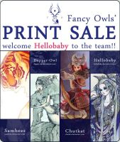 Fancy Owl Shop Sale by chutkat