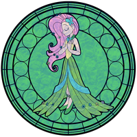 Fluttershy - Gala Dress (Human) by Trinityinyang