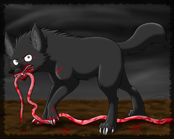 I eat your guts by MetallicUmbrage