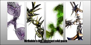 MrRobin abstract c4d pack 8 by MrRoBiN