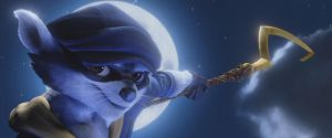 Sly Cooper 1 by Jd1680a