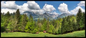 Oberstdorf Panorama 2 by deaconfrost78