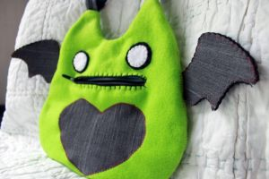 Zombie Nyawing Purse side view by Shlii