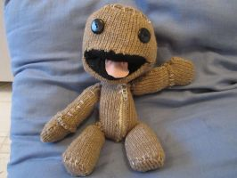 Sackboy Plushie by Hedgehogyawn