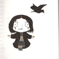Crow Stewie by AngelForAdoption