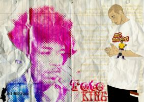 Tote King y su Inspiracion by artwarriors