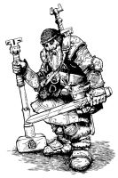 Dwarven Battle-smith by pictishscout