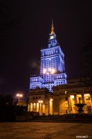 Palace of Culture and Science in Warsaw by Pinionist