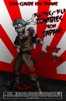 Kung-Fu Zombies from Japan by Tetsuo2200