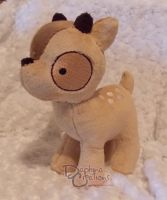 Baby deer by Gypmina