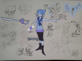 curse of bloodstonec haracters.1. Tanzanite by gameboyred