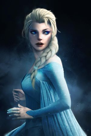 Arendelle 's Queen (re-rendered) by imGuss