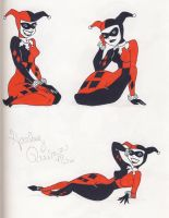 3 Harley's by CaperGirl