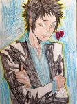 Yamamoto takeshi is a cool guy by Bluedragoncartoon