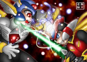 Rockman Zero Final Battle by Mutenroushi