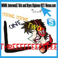 Bits and Bytes Internet Meme by FireReDragon