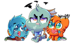 TAWOG AT: Which of US you find more cute? by karsisMF97