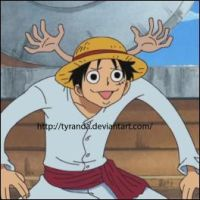 Luffy xD by tyranda