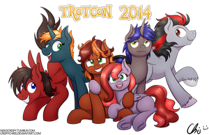 :Commission: Trotcon 2014 by NekoCrispy