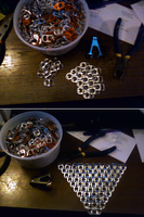 WiP: Pop Tab Chainmail by ArtSquirrel
