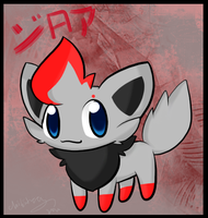 Pokemon BW- Zorua by chibitracy