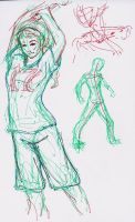 Figure Drawing Practice by ArtisteFish