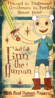 Adventure Time Finn The Human by FischHead