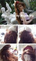Megara wig - Tutorial by Su-rine