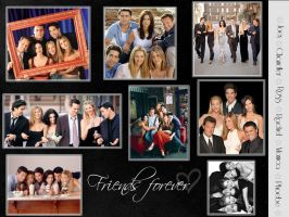 Friends wallpaper by flaminghearts