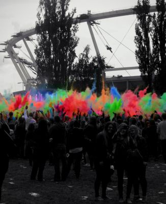 Festival of colors by smileformealltime