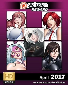 PATREON REWARDS - 2017 April by IDarkShadowI