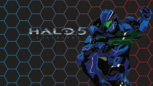 Halo 5 wallpaper Blue by stacalkas
