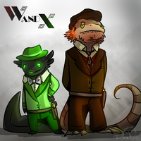W and X: Detective Force by TheGeneraless
