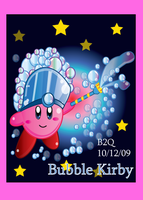Bubble Kirby by Bowser2Queen