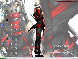 My Bloody desktop by bloody7lunacy