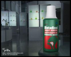 Betadine Pack - TVC by silke3d